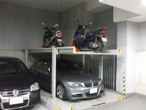 多段式駐車場